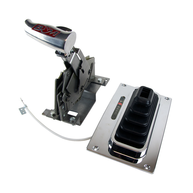 B/&m 40496 Ford Aod Trans Transmission Bracket /& Lever Installation Install Kit